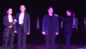 Young actors take to the stage in Battle of the Bards.