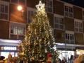 Santa switches on Bush Fair Christmas lights