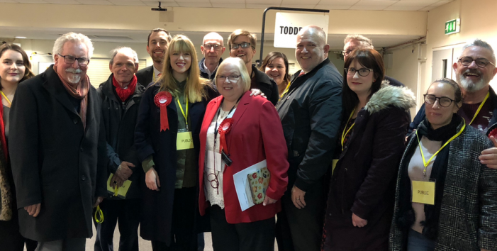 Labour hold Toddbrook in By-Election