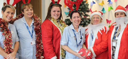 St Clare Hospice staff prepare to work over festive period