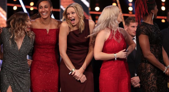 Harlow's golden girl Jo wins double at BBC's Sports Personality of the Year