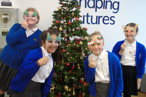 Christmas cheer at Jerounds Primary School