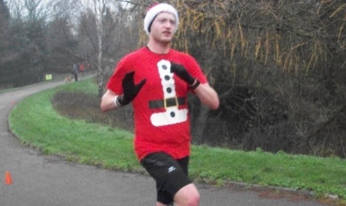 Athletics: Harlow runners in festive mood