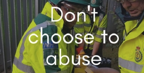 "Ambulance service launch ""Don't choose to abuse"" campaign"