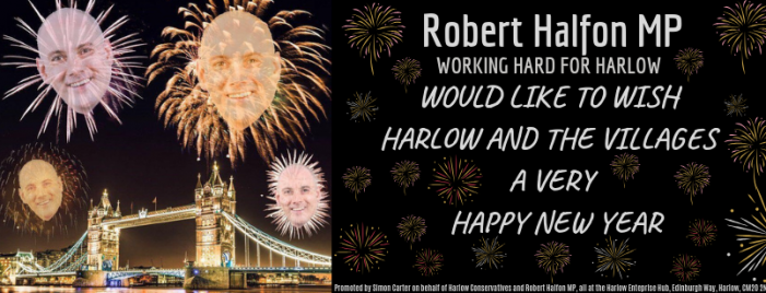 Harlow MP Robert Halfon sends new year message to residents