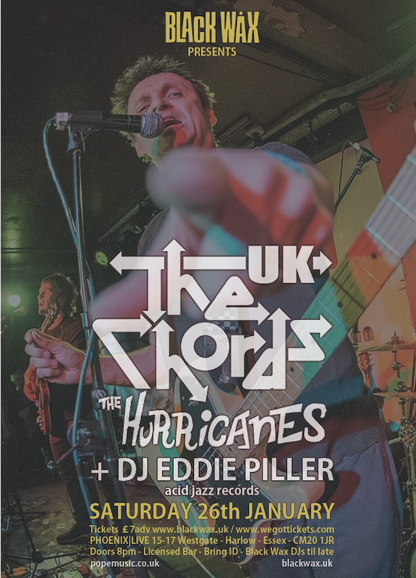 The Chords set to strike the right note at Phoenix Live