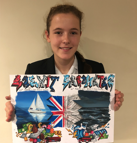Teenager's view of Brexit wins competition