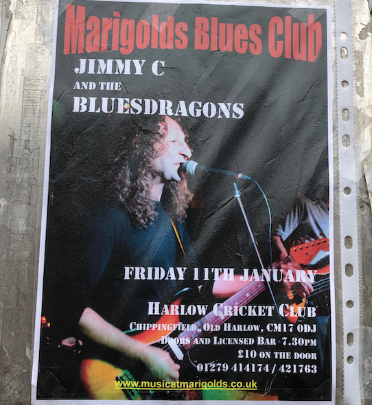 Marigolds Blues Club to host Jimmy C and the Bluesdragons