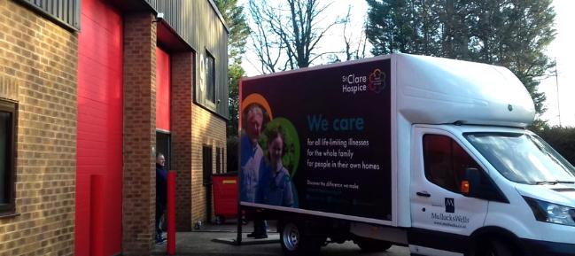St Clare Hospice open new donation centre