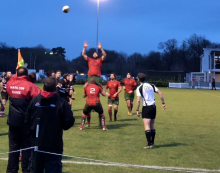 Rugby: Harlow outstanding in draw against high-flying Romford