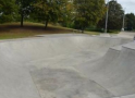Harlow Skatepark  subject to extensive repairs