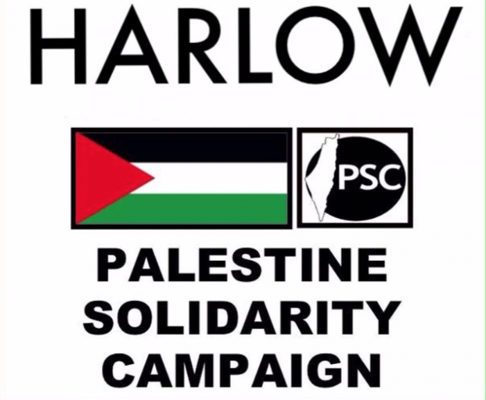 Harlow Palestinian Society submit petition to Harlow Council