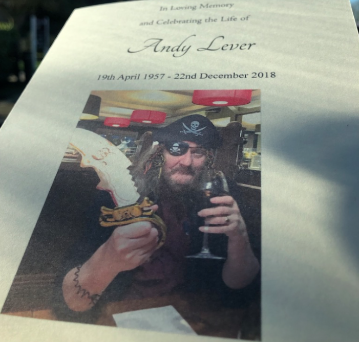 The Hyperlocal Bible: 17/365: So farewell then, Andy Lever