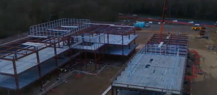Film shows tremendous progress at Harlow Science Park