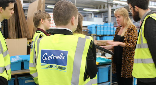 Harlow's Gratnells Engineering inspires school students to consider careers in STEM
