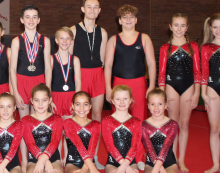 Gymnastics: East Regional Mens Finals & County Recreational Grades