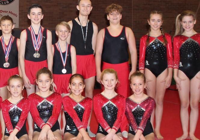 Gymnastics: East Regional Mens Finals & County Recreational Grades
