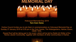 Harlow Council to host Holocaust Memorial Day Service