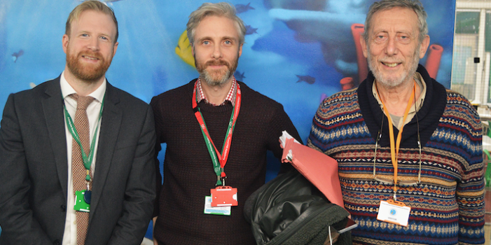 Acclaimed children's author Michael Rosen visits BMAT