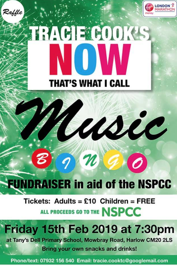 London Marathon 2019: Come and support Tracie's fundraiser for NSPCC