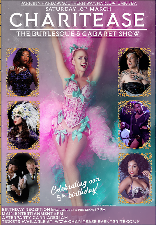 Charitease Burlesque and Cabaret Show