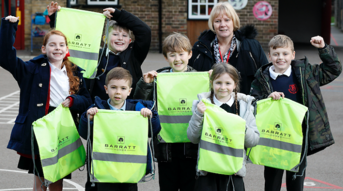 Bright students at Fawbert and Barnard Primary