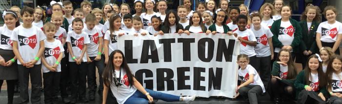 Latton Green choir showcase their talents at O2 in London