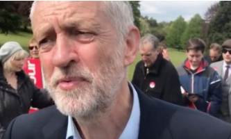 Jeremy Corbyn makes secret visit to Harlow