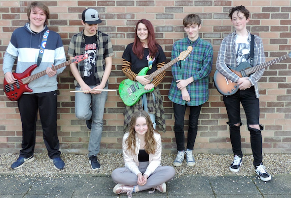 Mark Hall Academy musicians showcase their talents in the Battle of the Bands