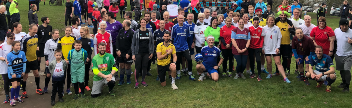 Harlow parkrun breaks the 300 runner barrier!