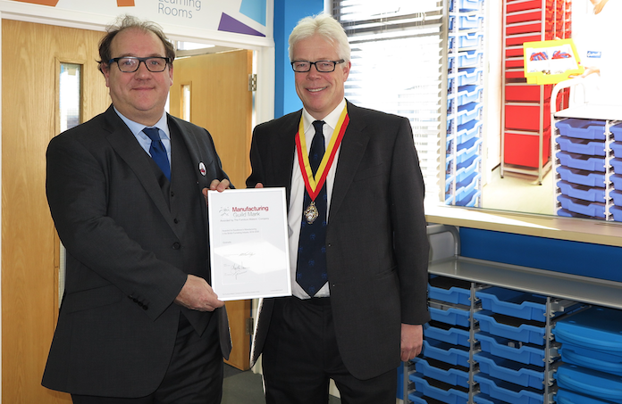 Gratnells awarded the Manufacturing Guild Mark