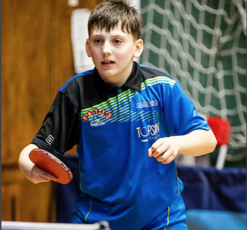 Table Tennis: Harlow school pupil set to represent his country aged just 11!