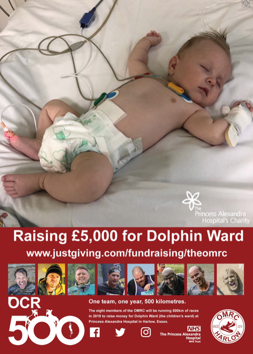Support the Old Men's Running Club (OMRC) as they raise money for Dolphin Ward