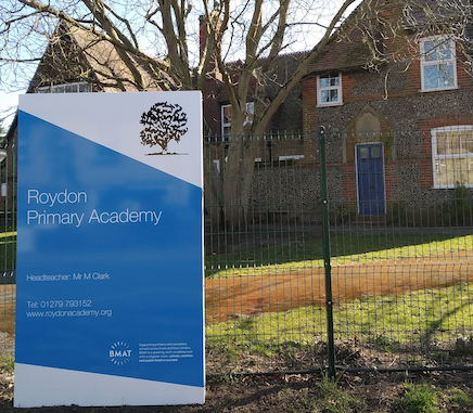 Roydon Primary School praised by Ofsted