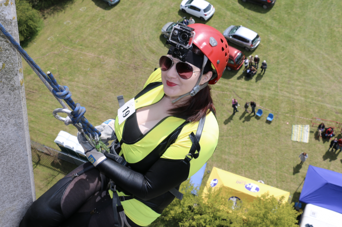 Harvey Centre set to sponsor Harlow Tye Rotary Water Tower Abseil