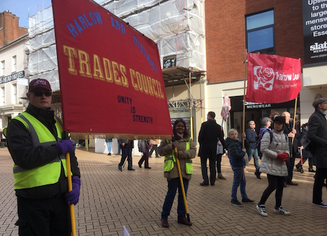 Harlow Trades Union Council announce departures