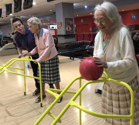 Harlow day centre users bowled over by day out