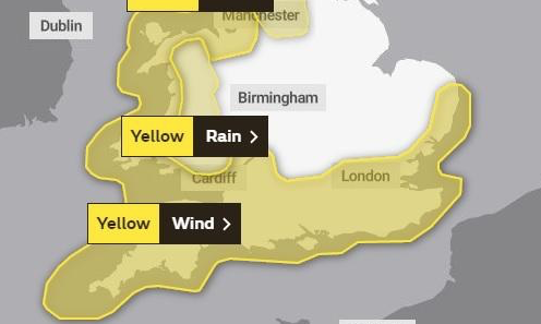 High winds expected for Harlow this weekend