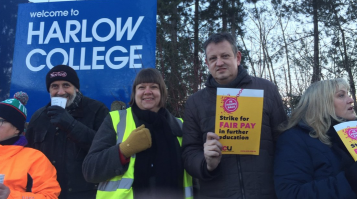 Harlow College staff set to strike for three days