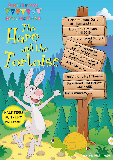 The Hare and The Tortoise are racing to Victoria Hall