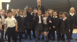 Freshwaters pupils take a trip to space