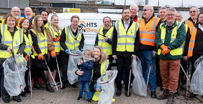 Harlow's Spring Clean spring into action!