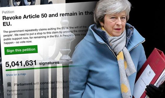 Brexit: Close to 4,000 Harlow residents sign Article 50 petition