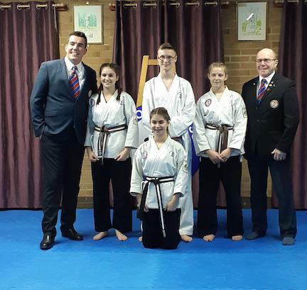 Harlow Jiu Jitsu host Junior Black Belt Grading at the GPCA