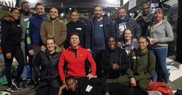Caridon property team support homeless community with sleep out