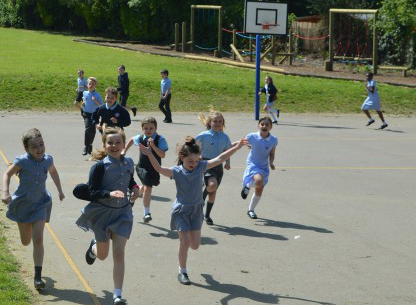 Harlow pupils benefit from track to do their daily mile