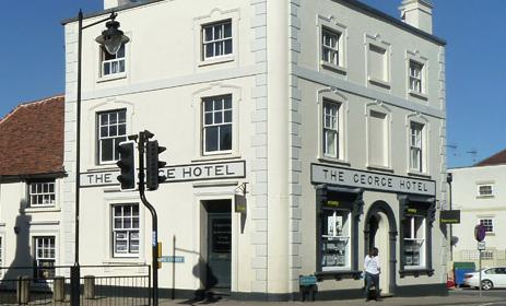 Bid to convert basement of George Hotel into takeaway