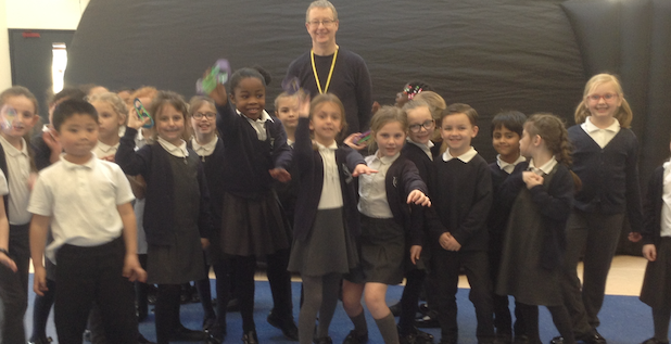 Freshwaters pupils take a trip to space to celebrate Science Week.
