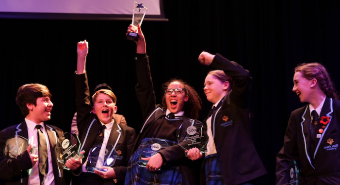 Mark Hall Academy win top drama award