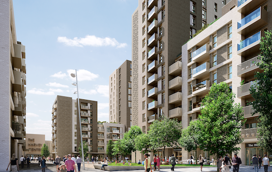 Harlow Town Centre site with plans for up to 500 homes sold to London property company.